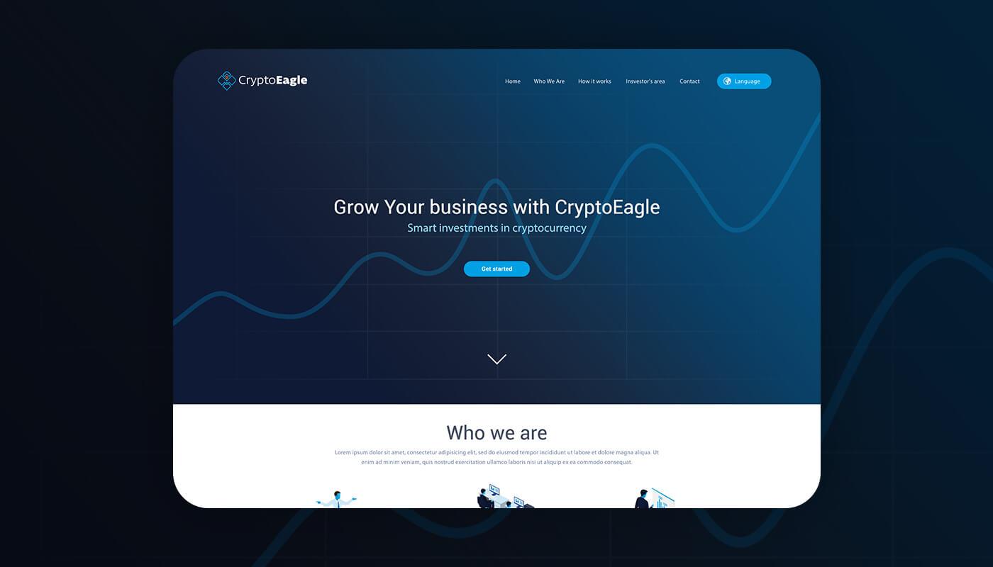 crestart studio weboldal cryptoeagle